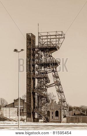 Mine shaft in Katowice