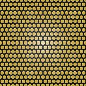picture of octagon  - Geometric fine abstract vector pattern with golden octagons - JPG