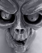 pic of hayride  - Gargoyle close up - JPG