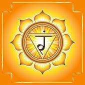 image of chakra  - Manipura - JPG