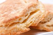 pic of buttermilk  - some fresh home made flaky buttermilk biscuits  - JPG