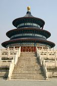 picture of heavenly  - The Temple of Heaven in Beijing China - JPG