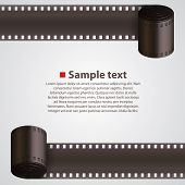 pic of strip  - Film Strip background art banner - JPG