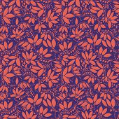 image of barberry  - barberry seamless pattern - JPG