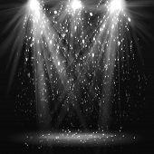 pic of spotlight  - Spotlight vintage background - JPG