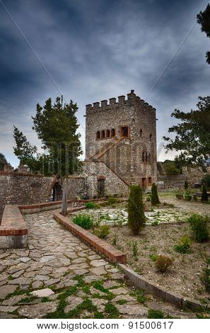 Albania, tourist destination the archaeological site of Butrint