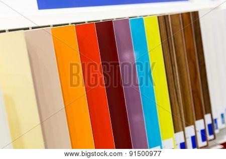 Wooden samples