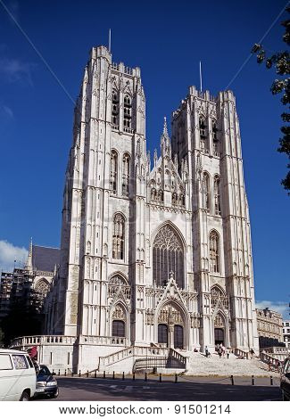 Brussels Cathedral.