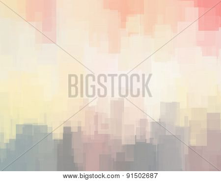 Abstract Background Or Texture With Geometric Objects