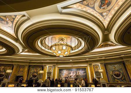Caesars Palace Hotel Lobby, Las Vegas, Nevada