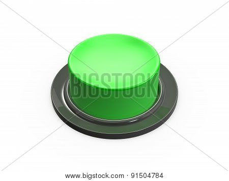 Blank Green Button