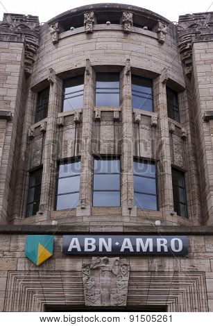 Abn Bank Building In The Hague