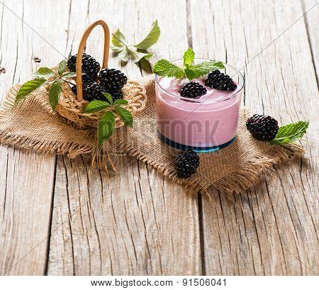 Smoothie Of Blackberry