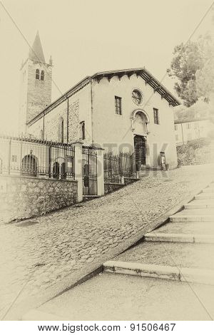 Santa Maria Dei Domenicani Is A 15Th-century, Roman Catholic Church, Located Inside The Scaliger Wal