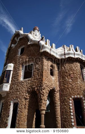 Gaudi House in Parc Guell