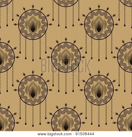 Vector Seamless Modern Stylish Pattern Geometric Tiles