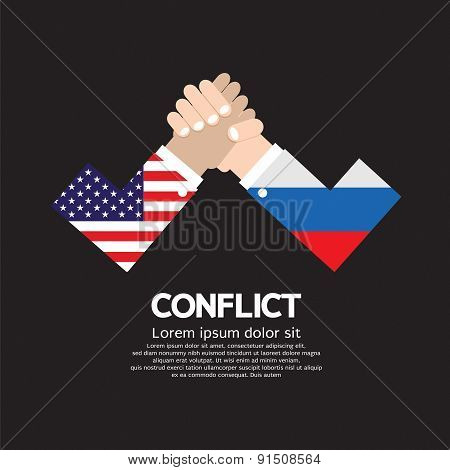 Usa Vs Russia Arm-wrestle.