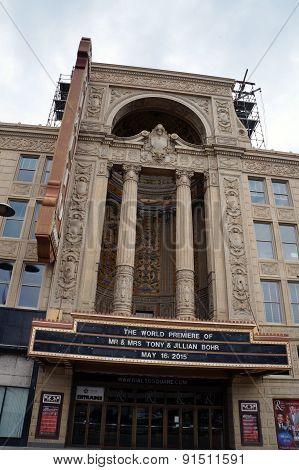 Rialto Square Theater Entrance
