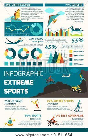 Extreme Sports Infographic