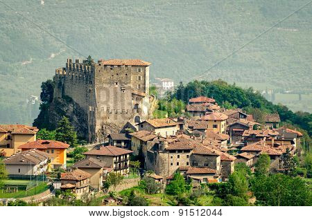 Tenno, Trentino Alto Adige (italy), Village And Castle