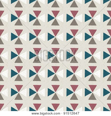 seamless hand drawn geometric pattern