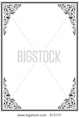 Frame With Ornament_03