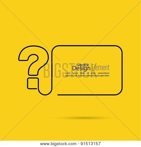 Question mark icon.