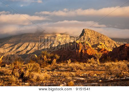 Clouds at Red Rock Canyon