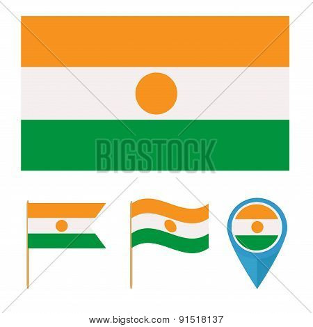 Niger,country flag