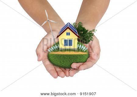 Hi-tech  Settlement In Your Hands