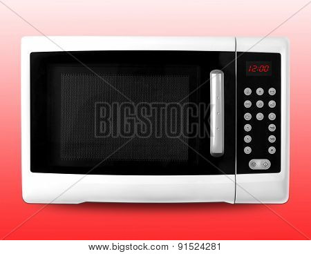 Microwave. Isolated