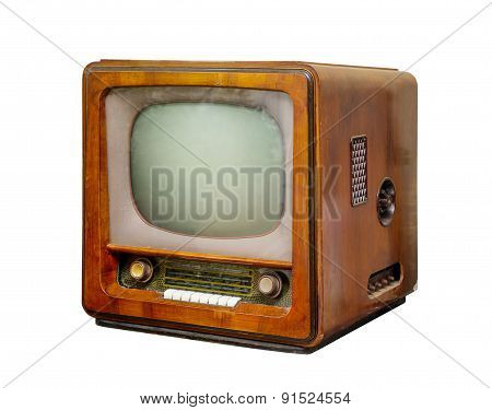 Old Tv, Side View