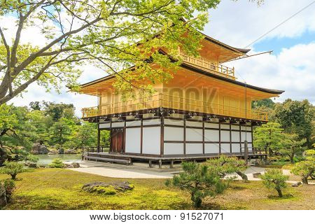Kinkaku-ji Temple, Japan.