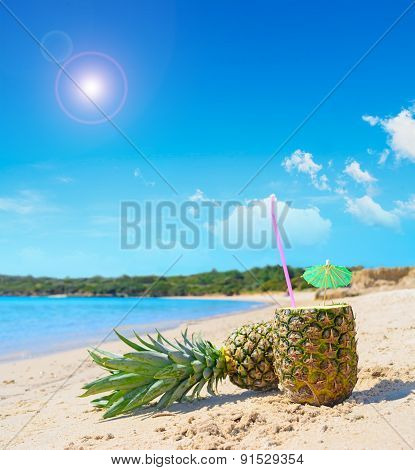 Pineapples By The Shore