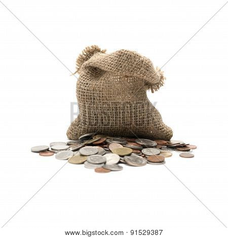 Coin In Sack