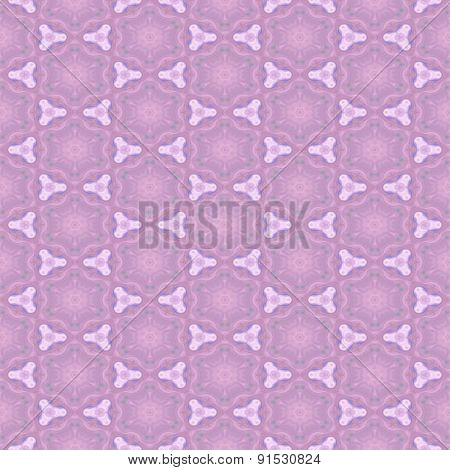 Blurred Pink Romantic Seamless Texture With Soft Floral Pattern