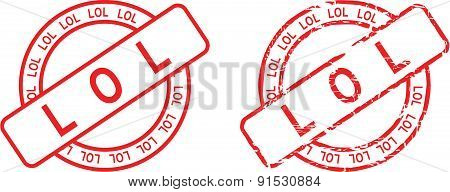 lol stamp sticker set