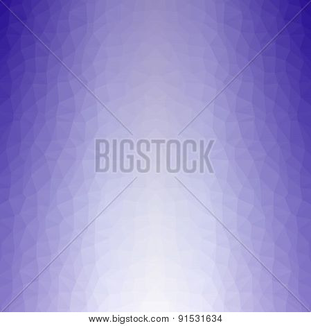 Abstract Geometric Background Of Lilac Triangular Polygons