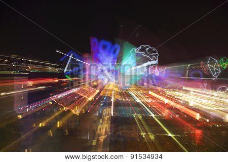 Vivid Sydney Kaleidoscope