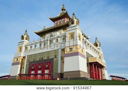 Khurul Buddhist in Kalmykia Elista