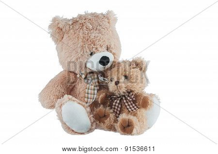 Friendship - Two Teddy Bears.
