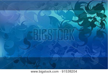 Deep blue color   background