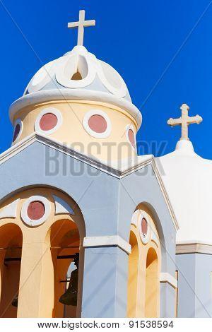 Church In Firostefani, Santorini
