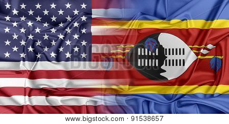 USA and Swaziland