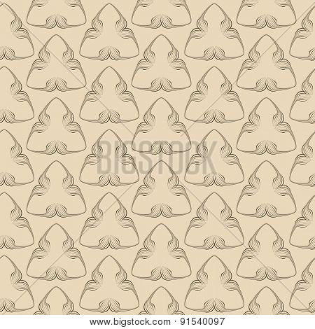 Vector Seamless Pattern. Modern Texture. Repeating Geometric Tiles