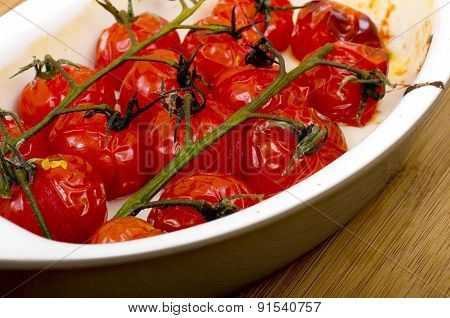 Roasted Vine Cherry Tomatoes