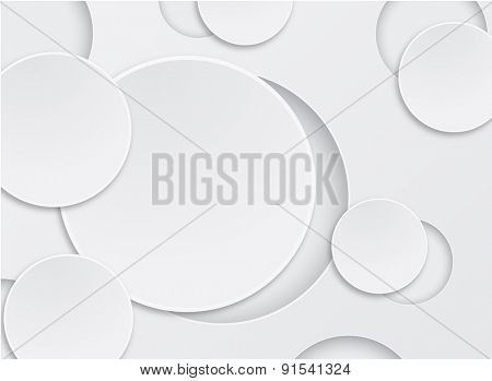 abstract background white circle design