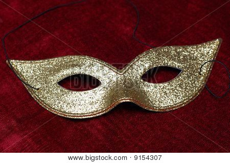 golden venice mask