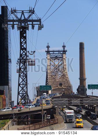 Queensboro Bridge in New York City