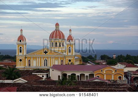 Church in Granada, Nicaragua
